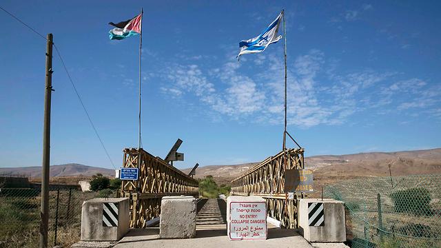 ירדן לא תאריך נספח בהסכם השלום: שטחים יחזרו לריבונותה