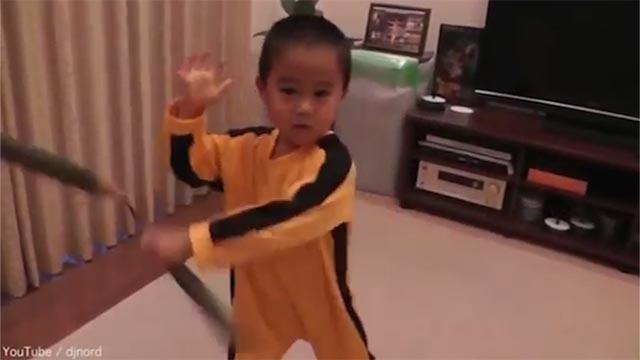 מגה וברק סין: היורש של ברוס לי - בן 4. צפו בביצועיו CU-45