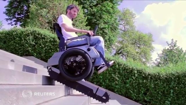 משהו רציני חדש: כיסא גלגלים שיודע לטפס על כל סוגי המדרגות RC-19