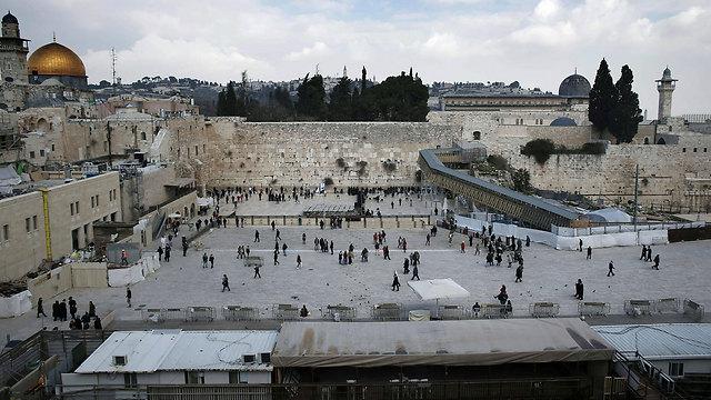 הכותל המערבי (צילום: AFP)