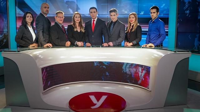 חדשות היום: היום: משדר השקה של אולפן Ynet החדש