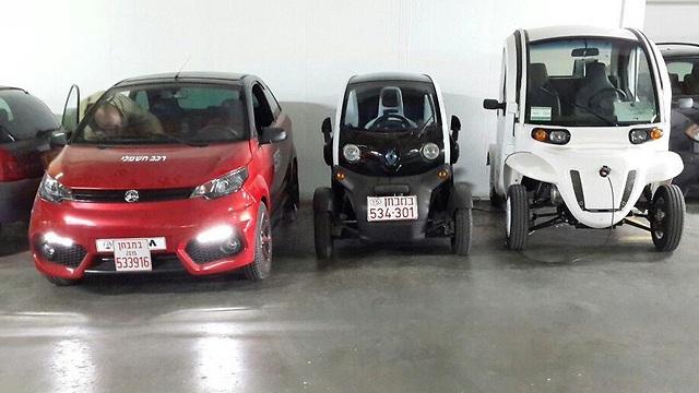 משהו רציני מכוניות זעירות אושרו לייבוא - רק לשימוש עירוני CM-32