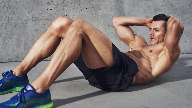 תוצאת תמונה עבור תרגילים טובים לשרירי הבטן – קוביות