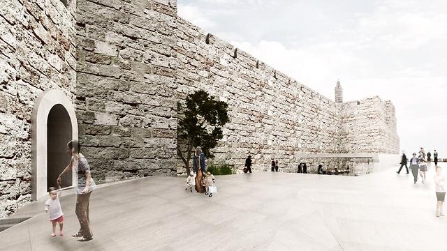 לגלות מחדש את מוזיאון מגדל דוד