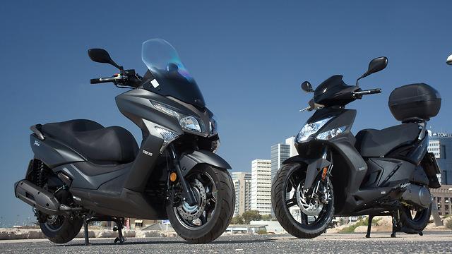 סנסציוני קטנועים חדשים על 2 ו-3: קימקו וימאהה 125 OM-65