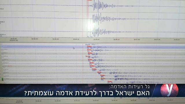 רעידת אדמה בישראל: שוב: רעידת אדמה הורגשה באזור הכינרת
