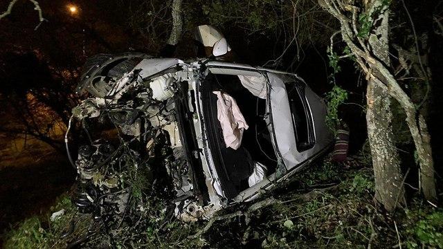 תאונה: ההרוג הרביעי בסוף השבוע: תאונה קטלנית בעמק יזרעאל