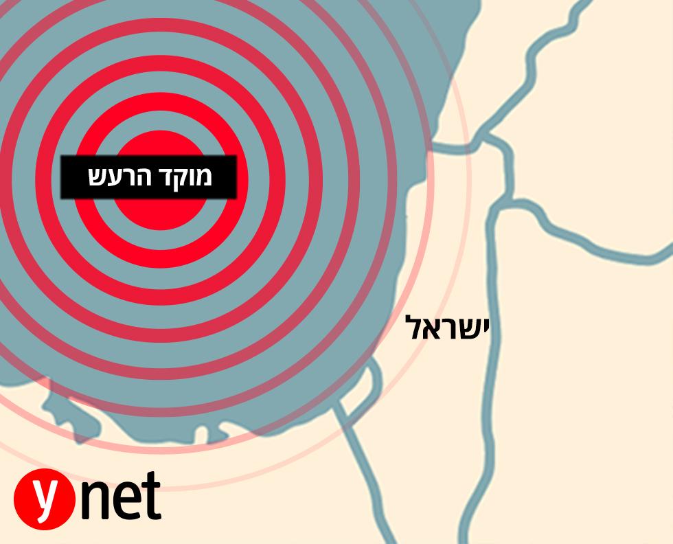 רעידת אדמה בישראל: רעידת אדמה בעוצמה של 4.4 הורגשה בישראל