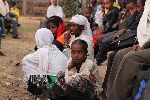 Falash Mura in Gondar, Ethiopia  ()