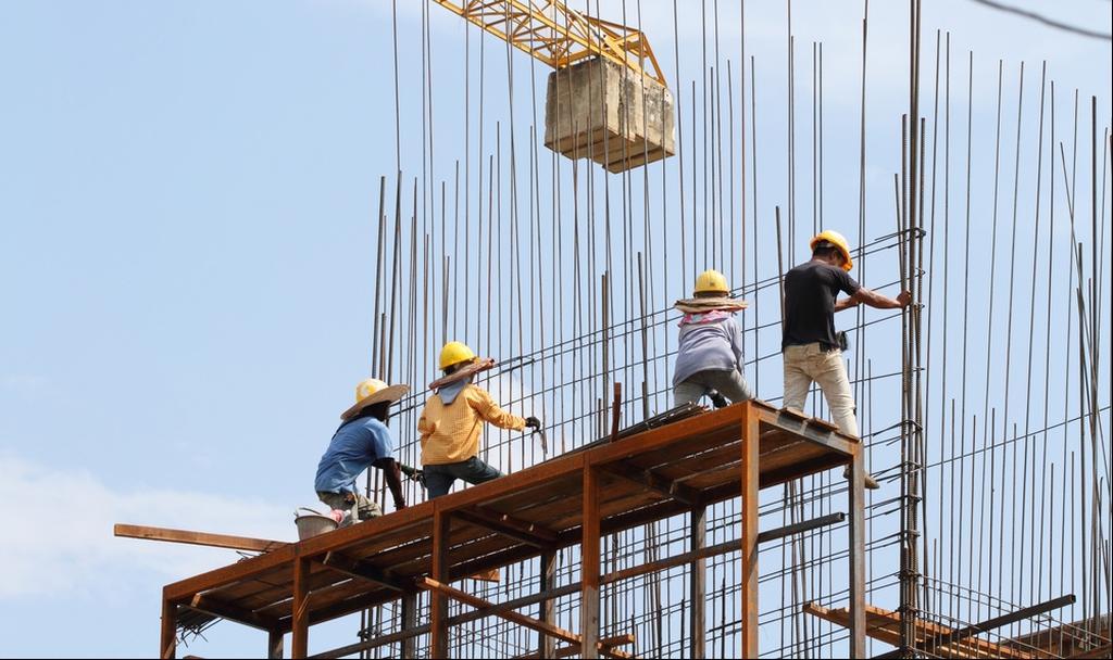 לא רק בגלל הקורונה - ירידה בתאונות באתרי הבנייה (צילום: shutterstock) (צילום: shutterstock)