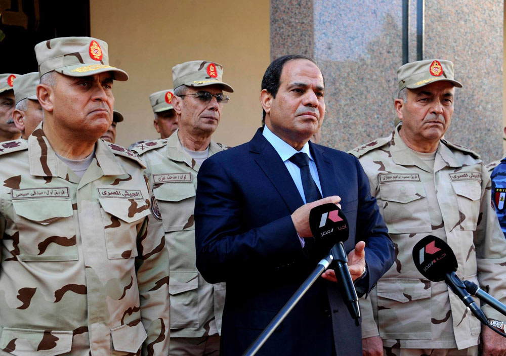 Egyptian President Abdel Fattah el-Sisi  (Photo: Reuters)