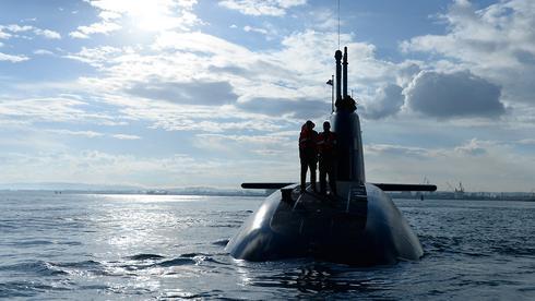 Israel Navy submarine  (Photo: IDF Spokesperson's Unit)