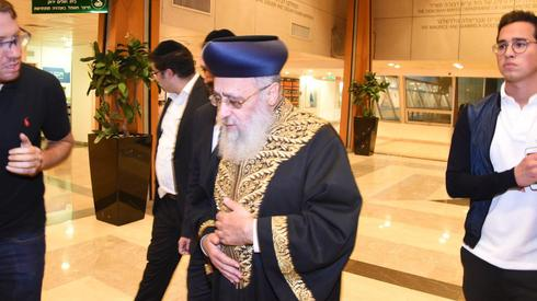 Rabbi Yosef Yitzhak  (Photo: Yair Sagi)