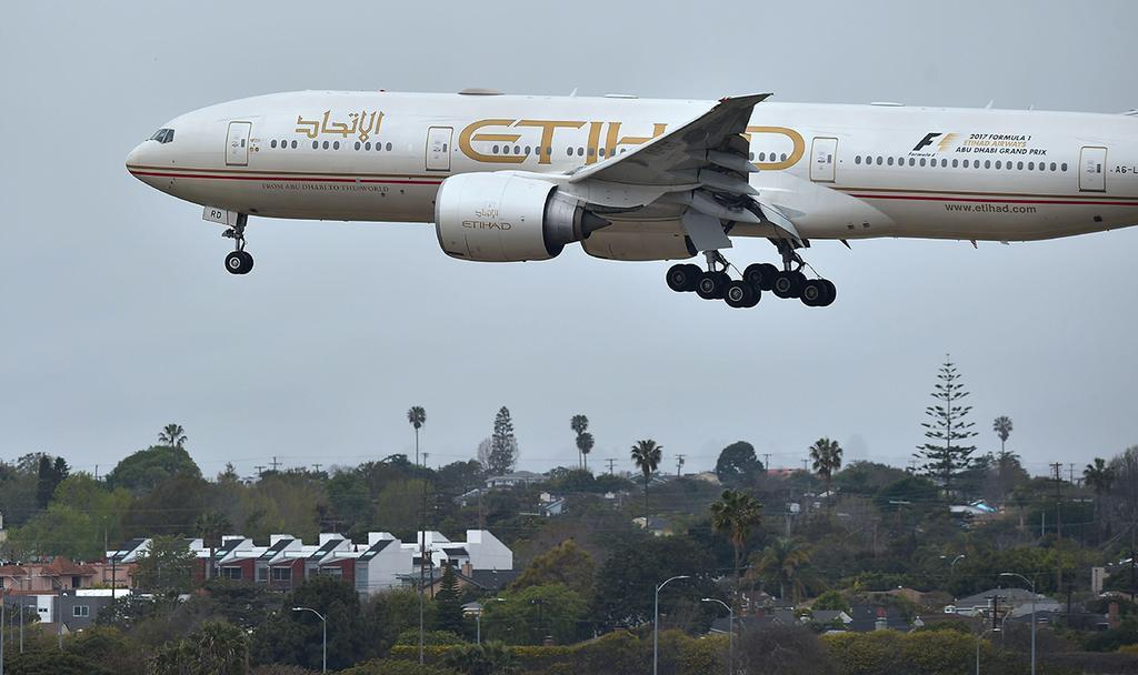 Etihad Airways (Photo: AFP)