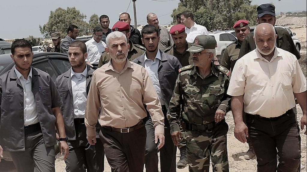 Hamas leader yahya Sinwar  (Photo: EPA)