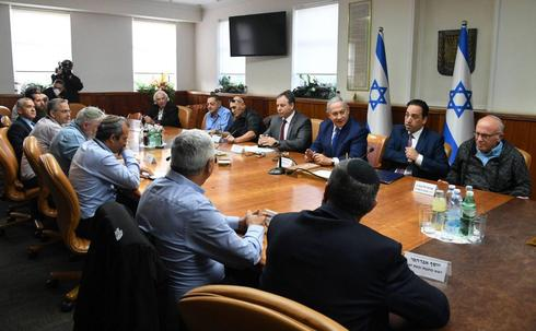 Benjamin Netanyahu meeting with Yesha Council leadership, December 2018  ()