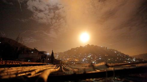 Israeli strike in Syria, Archive  (Photo: Reuters)