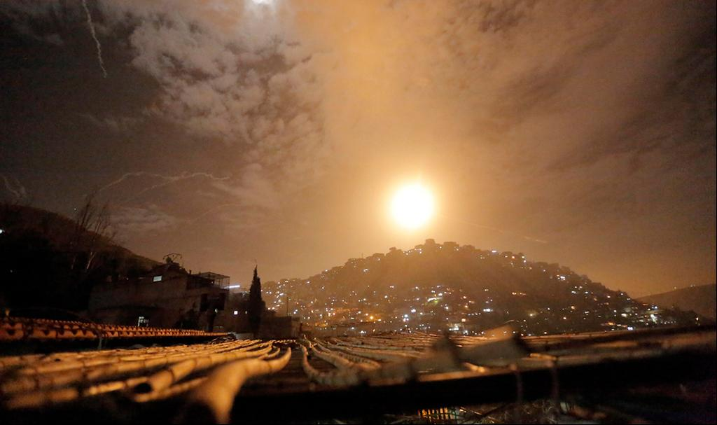 Israeli raid in Syria  (Photo: EPA)