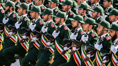 Members of the Revolutionary Guard Corps in Iran  (Photo: AP)
