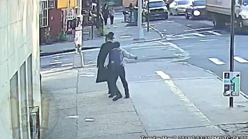 An anti-Semitic attack in Brooklyn New York  ()