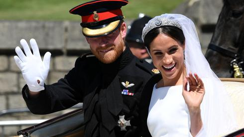 Harry and Meghan on their wedding in 2018  (Photo: Getty Images)