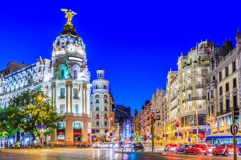 מדריד, ספרד (צילום: shutterstock)