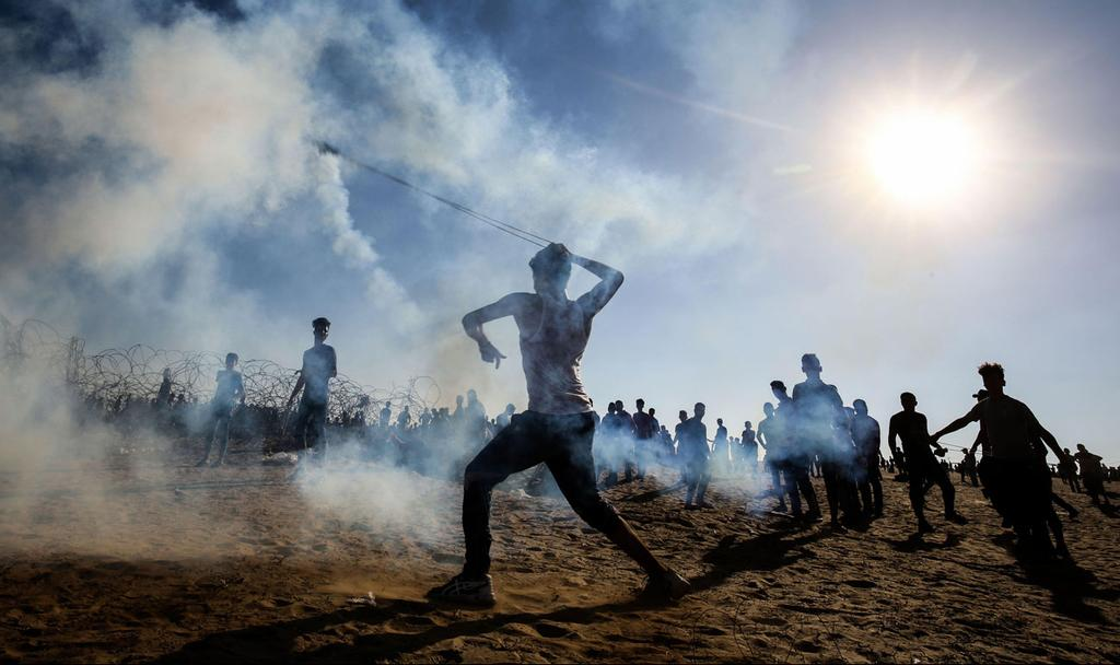 Protests in Gaza  (Photo: AFP)