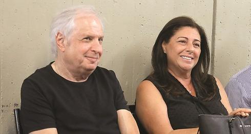 Shaul and Iris Elovich  (Photo: Dana Kopel)
