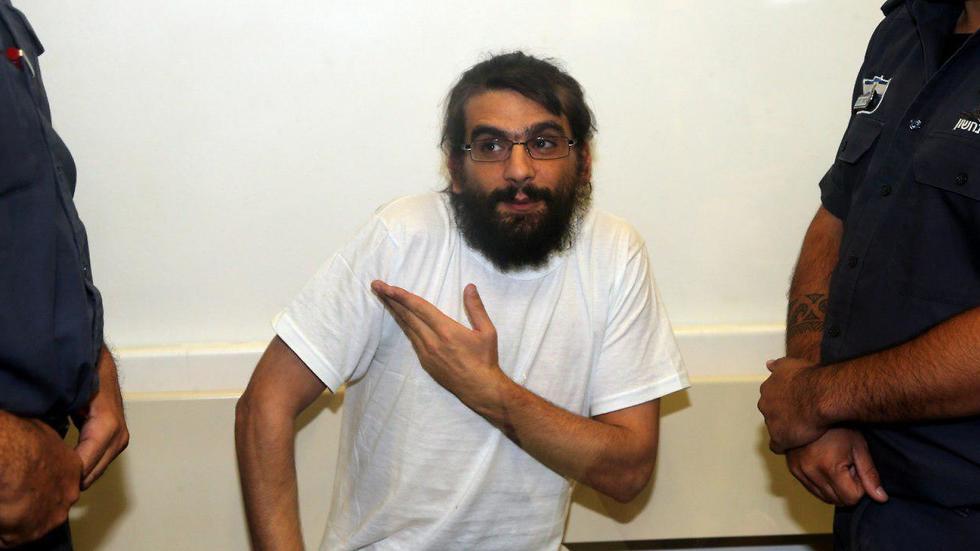 Telegrass founder Amos Dov Silver in court  (Photo: Yariv Katz)