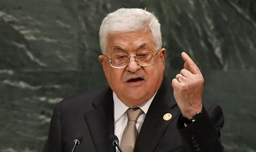 Palestinian President Mahmoud Abbas speaks at the UN General Assembly in New York, Sept. 2019  (Photo: AFP)