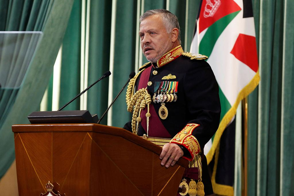 King Abdullah II of Jordan  (Photo: Reuters)
