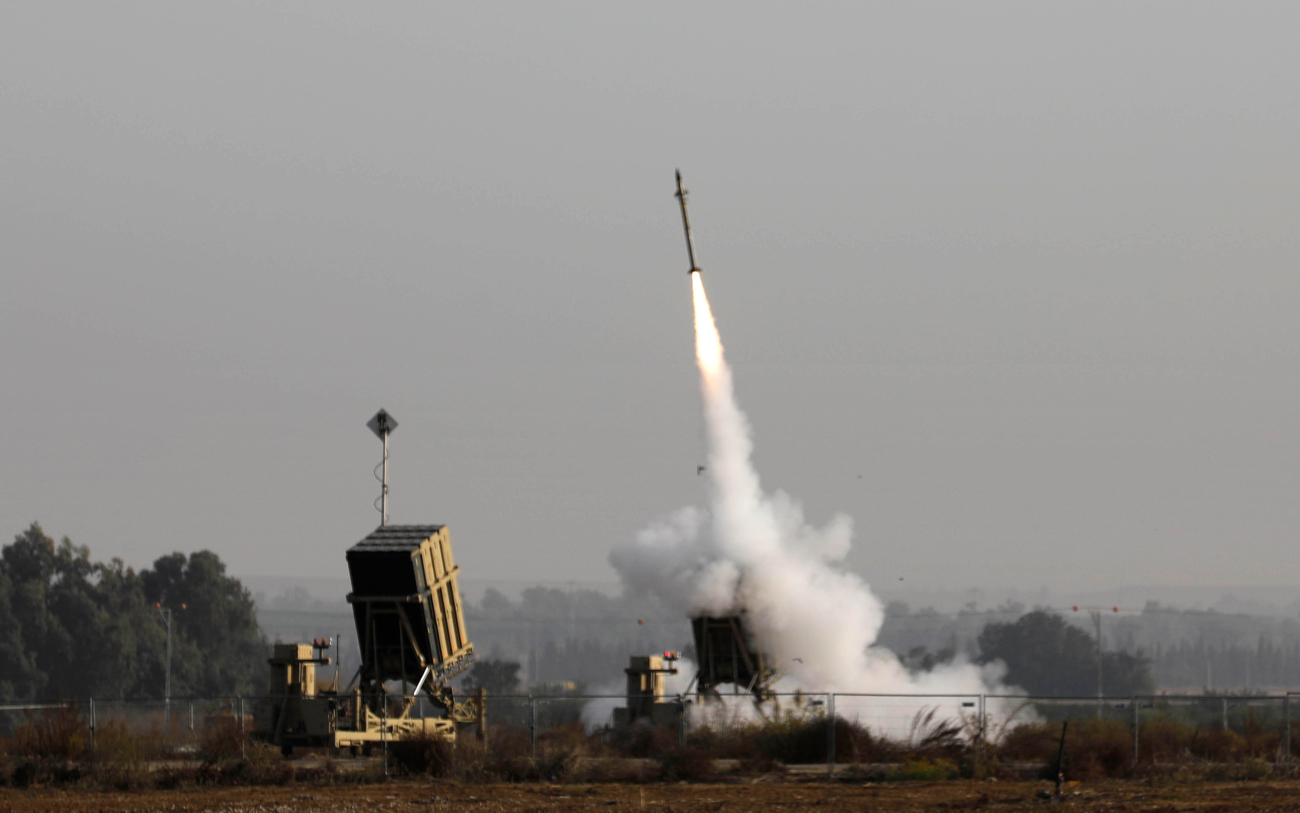 The Iron Dome missile defense system (Photo: AFP)