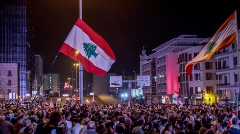 Anti-government protests in Lebanon (Photo: EPA)