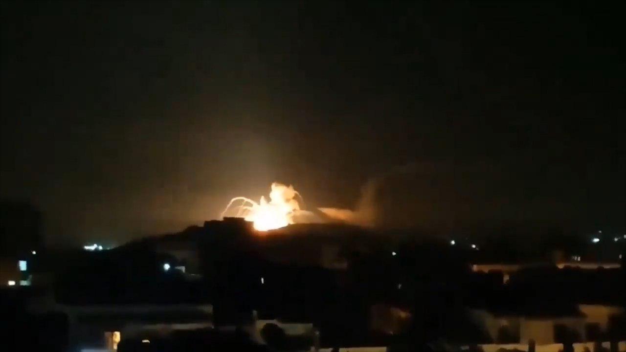 Israeli strike on Iranian targets in Syria  ()