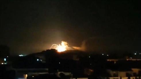 Israeli raid on Iranian targets in Syria ()