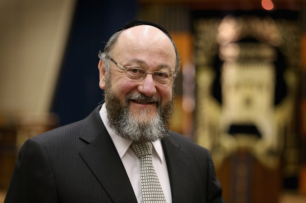 British Chief Rabbi Ephraim Mirvis  (Photo: Getty Images)