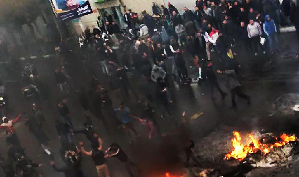 Protests in Tehran  (Photo: MCT)
