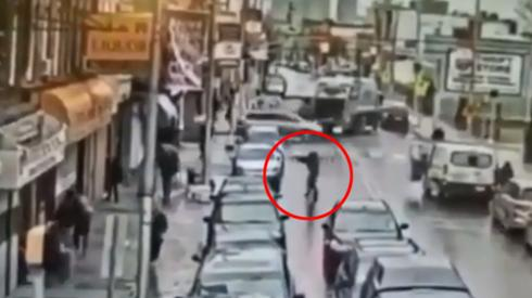 One of the killers in the New Jersey kosher market shooting is caught on security camera ()