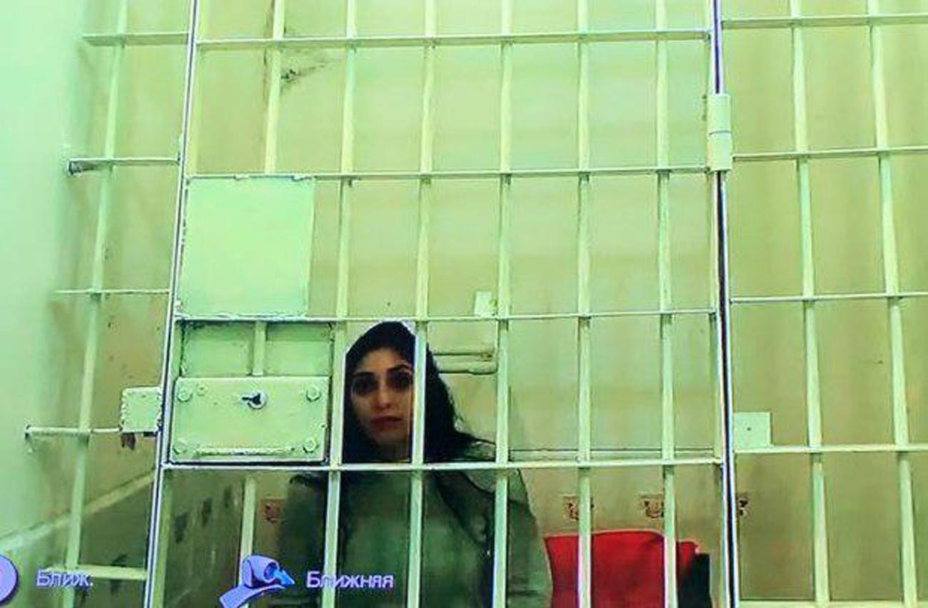 Naama Issachar in Russian prison ()