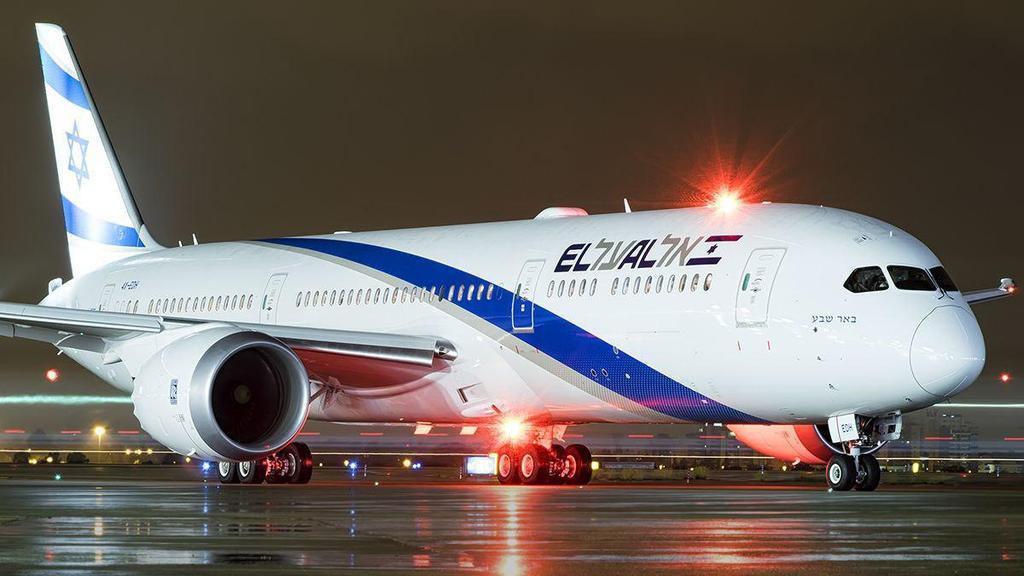 El Al plane (צילום: עידו וכטל)