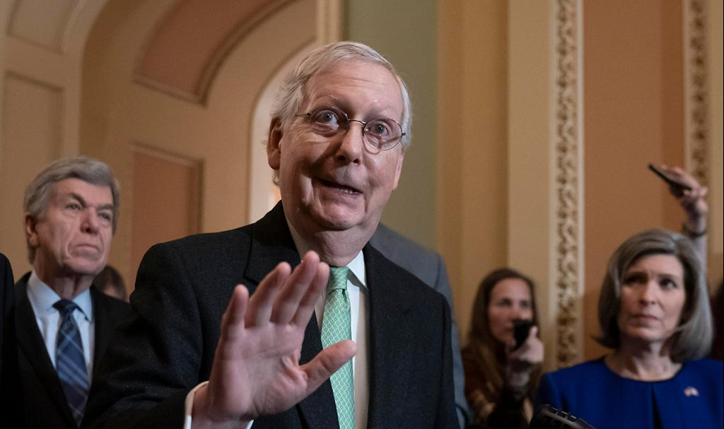 U.S. Senator Mitch McConnell  (Photo: AP)