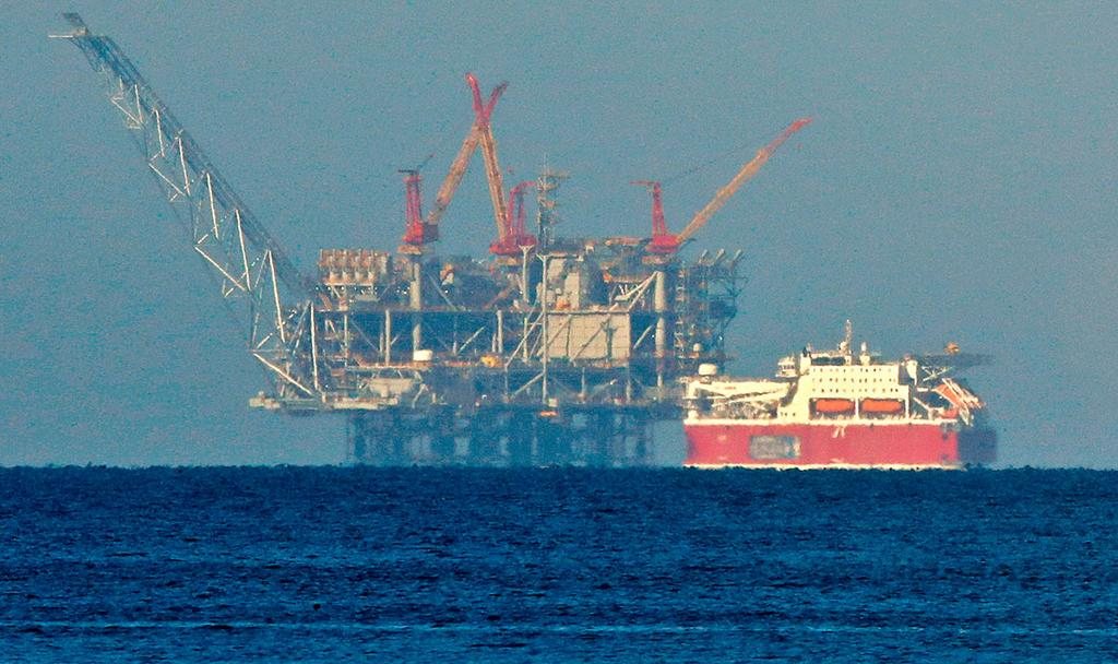Israel's Leviathan gas field  (Photo: AFP)
