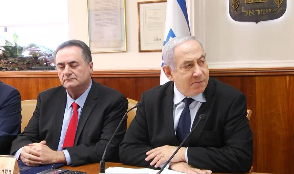 ראש הממשלה בנימין נתניהו ושר האוצר ישראל כץ (צילום: אבי כהן)