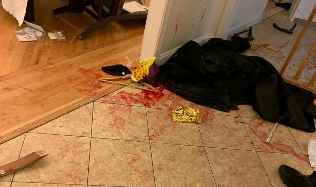 Aftermath of Monsey Hanukkah stabbing attack ()