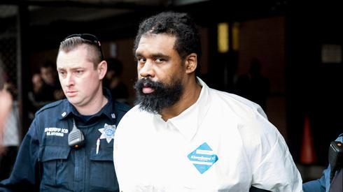 The aggressor, Grafton Thomas  (Photo: AP)