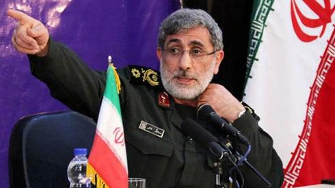 Esmail Ghaani who has replaced slain Qasem Suleimani ()