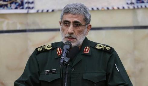 The new head of the IRGC's Quds Force Esmail Ghaani ()