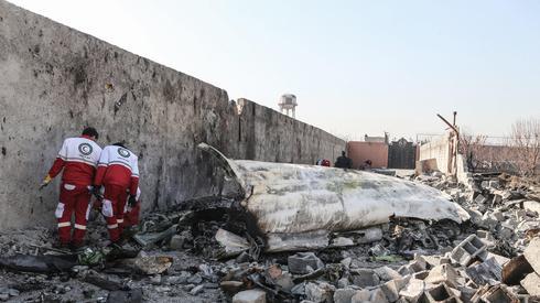 Crash site of Ukrainian jetliner downed in Iran  (Photo: MCT)