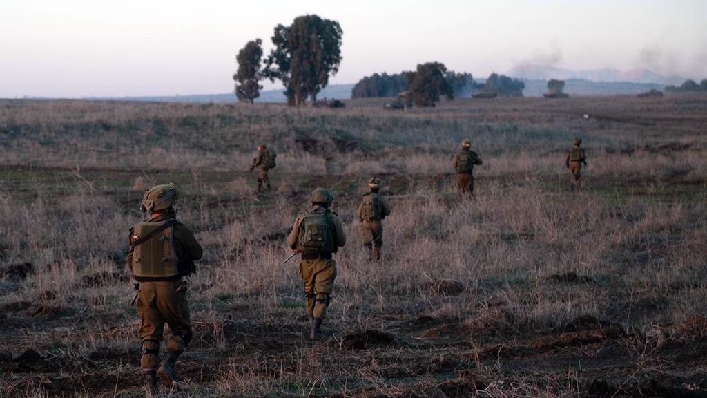 Армейские учения. Фото: пресс-служба ЦАХАЛа (архив) ()