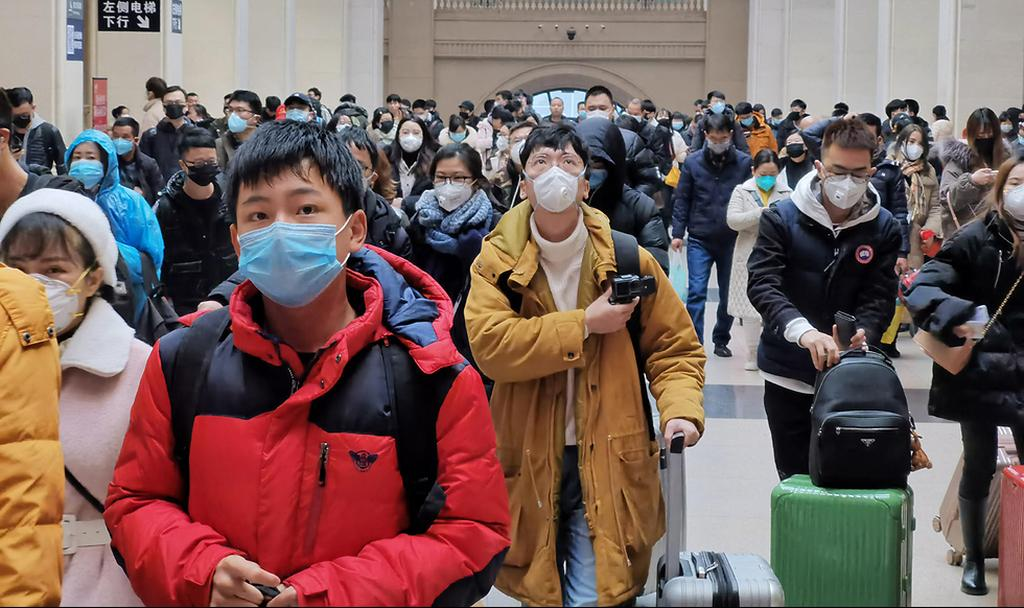 Chinese wearing masks in order to stave off the Coronavirus  (Photo: Gettyimages)